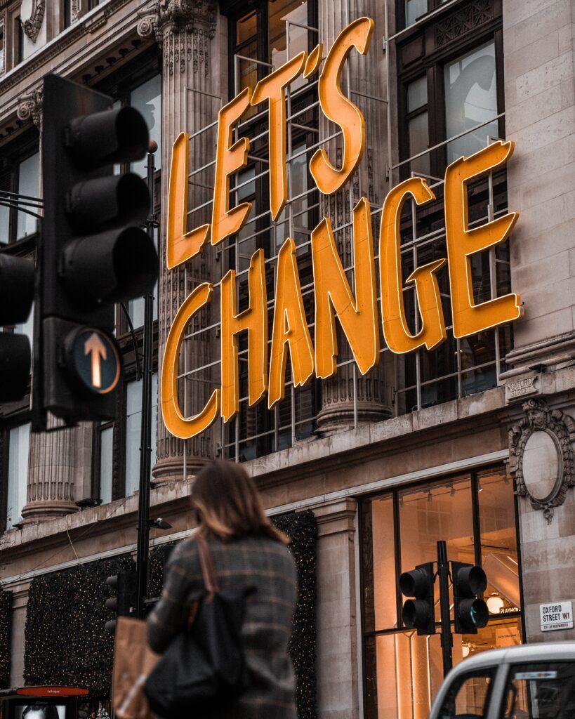 Partecipa al cambiamento positivo